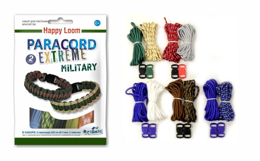 Плетение браслета military