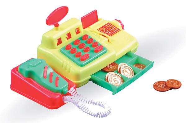 Кассовый аппарат для магазина игрушек